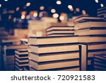 education and study as concept  ... | Shutterstock . vector #720921583