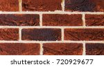 texture of natural brick.... | Shutterstock . vector #720929677