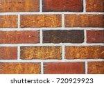 texture of natural brick.... | Shutterstock . vector #720929923