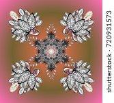 weather illustration ice... | Shutterstock .eps vector #720931573