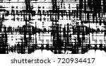 grunge black and white vector.... | Shutterstock .eps vector #720934417