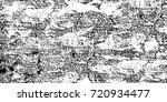 grunge black and white vector.... | Shutterstock .eps vector #720934477