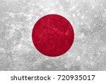 flag of japan | Shutterstock . vector #720935017