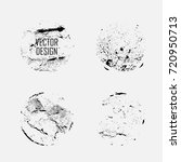 grunge post stamps collection ... | Shutterstock .eps vector #720950713