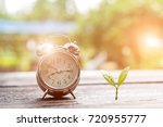 young plant growing in the... | Shutterstock . vector #720955777