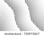 abstract halftone wave dotted... | Shutterstock .eps vector #720972817