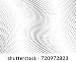abstract halftone wave dotted... | Shutterstock .eps vector #720972823