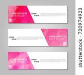 vector abstract banner | Shutterstock .eps vector #720974923