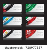 country flags vector with space ... | Shutterstock .eps vector #720977857
