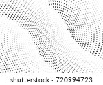 abstract halftone wave dotted... | Shutterstock .eps vector #720994723