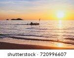 beautiful nature  exotic beach... | Shutterstock . vector #720996607