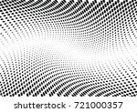 abstract halftone wave dotted... | Shutterstock .eps vector #721000357