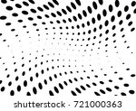 abstract halftone wave dotted... | Shutterstock .eps vector #721000363