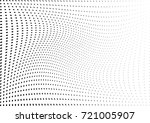 abstract halftone wave dotted... | Shutterstock .eps vector #721005907