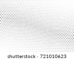 abstract halftone wave dotted... | Shutterstock .eps vector #721010623