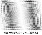 abstract halftone wave dotted... | Shutterstock .eps vector #721010653
