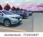 car parking in parking lot near ... | Shutterstock . vector #721021837