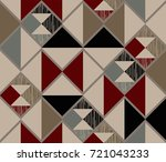 abstract seamless image ... | Shutterstock .eps vector #721043233