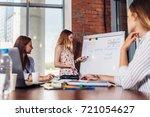 teacher explaining differences... | Shutterstock . vector #721054627