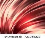 rose gold wave abstract... | Shutterstock . vector #721055323
