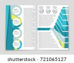 abstract vector layout... | Shutterstock .eps vector #721065127