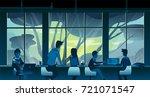 vector illustration of nice... | Shutterstock .eps vector #721071547