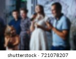 abstract blur restaurant and... | Shutterstock . vector #721078207
