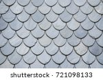 shale roof. traditional... | Shutterstock . vector #721098133