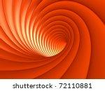 Orange Vortex Background