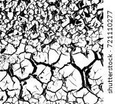 soil drought cracks texture... | Shutterstock .eps vector #721110277
