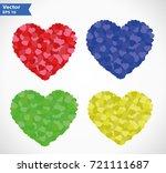 vector illustration of abstract ... | Shutterstock .eps vector #721111687