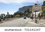 canton de beausoleil. france.... | Shutterstock . vector #721141147