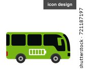 eco energy bus | Shutterstock .eps vector #721187197