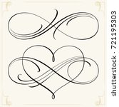 infinity love icon vector... | Shutterstock .eps vector #721195303