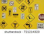 signs | Shutterstock . vector #721214323
