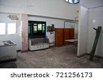 interior abandoned kitchen of... | Shutterstock . vector #721256173