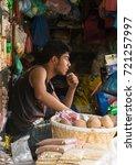 patan  nepal   circa september... | Shutterstock . vector #721257997