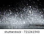 sparkling glittering lights... | Shutterstock . vector #721261543