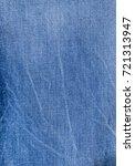 blue jeans close up | Shutterstock . vector #721313947