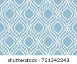 abstract pattern in arabian... | Shutterstock .eps vector #721342243