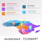 africa regions business... | Shutterstock .eps vector #721346497
