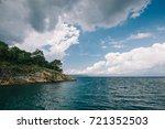 small island on the sea | Shutterstock . vector #721352503