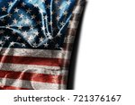 usa flag background with