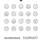 emotions ui pixel perfect well... | Shutterstock .eps vector #721391377