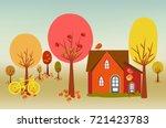 hello autumn illustration of a