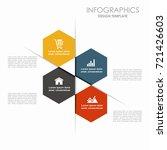 infographic template. vector... | Shutterstock .eps vector #721426603