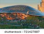 moscow  russia   september 14 ... | Shutterstock . vector #721427887