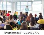 business and entrepreneurship... | Shutterstock . vector #721432777