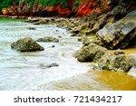 khao kalok beach pranburi  ... | Shutterstock . vector #721434217