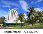 cityscape of guam   guam usa  ... | Shutterstock . vector #721437397